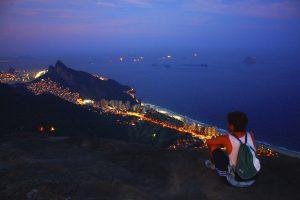 Seeing the city from Pedra Bonita, Rio de Janeiro, Brazil, Brazil News