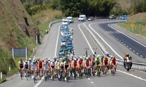 Competitors race in the third stage of the 2013 Tour do Rio, Rio de Janeiro, Brazil, Brazil News