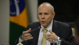 Mantega, Brazil finance minister, assures that Brazil is not in a recession despite recent figures, stressing that as unemployment is not rising, the slump is just temporary, photo by Agencia Brasil