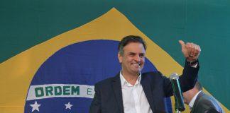 PSDB candidate Aecio Neves