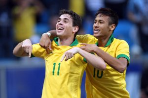 Both Oscar and Neymar, here in a game against France in 2013, scored yesterday, Rio de Janeiro, Brazil News