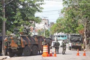 The military had started to occupy Complexo da Maré a year ago, Rio de Janeiro, Brazil News
