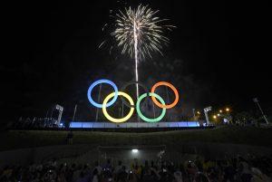 Rio de Janeiro, Brazil News, Brazil, Madureira Park, Olympic Rings, Madureira, 2016 Rio de Janerio Olympic Games, Olympics, Rio Olympics