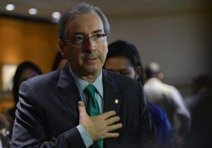 Speaker of the House of Representatives Eduardo Cunha speaking to journalists, Rio de Janeiro, Brazil News