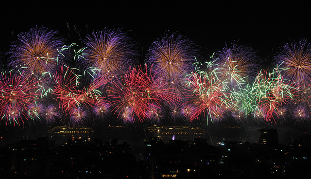 Brazil News, Brazil, Rio de Janeiro, Rio, New's Year's Eve, Reveillon, Copacabana, Copacabana Beach, New Year's Eve Program, Fireworks