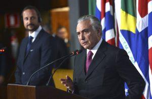 Brazil Vice-President Michel Temer, Rio de Janeiro, Brazil, Brazil News