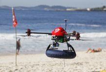 Drones, beach, lifeguard, safety, ocean, waters, drowning, Rio de Janeiro, Brazil, Brazil News