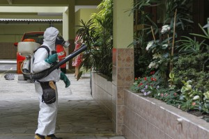 Brazil,Health agents have been seen throughout the country trying to kill the mosquitos that carry the zika virus
