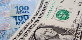 Brazilian real registers the lowest level against the US dollar since 1994 on Thursday, Brazil