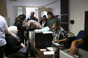 Brazil, Syrians obtain Brazilian documents for work at a refugee center set up in São Paulo city