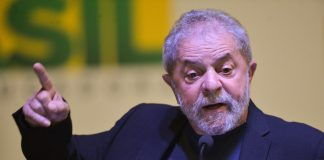 Brazil, São Paulo, Former President Lula is being charged with passive corruption and money laundering