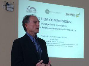 Steve Solot of the Rio Film Commission and Latin American Training Center (LATC), Rio Film MixUp, Rio de Janeiro, Brazil, Brazil News