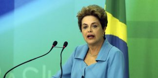 Brazil, Brazil News, Brasilia, President Dilma Rousseff, the first women president of Brazil, faces the final phase of her impeachment trial,