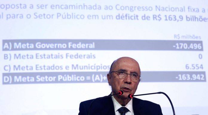 Brazil, primary deficit,Finance Minister, Henrique Meirelles, during presentation of new primary deficit to be approved by Congress,