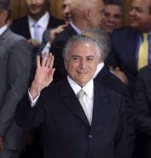 Michel Temer, Brazil's New Interim President Takes Over