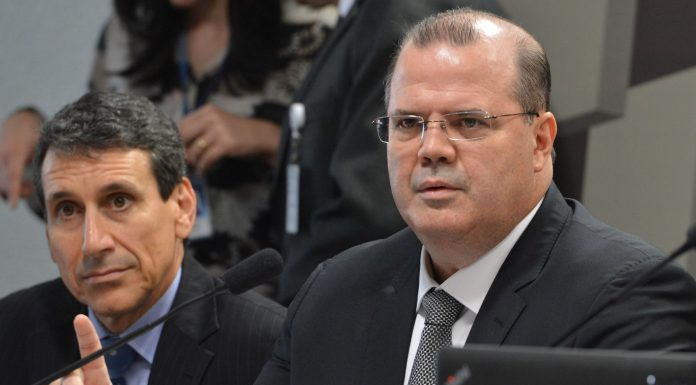 Brazil, Brasilia,This was Alexandre Tombini's last Copom meeting as president of Brazil's Central Bank,