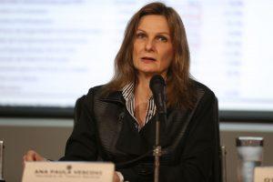 Brazil's Treasury Secretary, Ana Paula Vescovi announces results for government accounts,