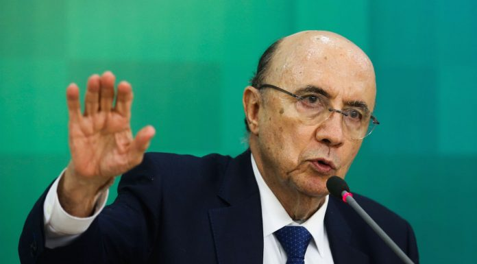 Brazil,Finance Minister Henrique Meirelles announces 2017 budget forecast