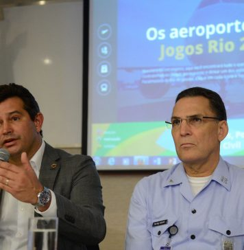 Brazil,Minister Maurício Quintella speaks about security during Rio 2016 Olympic and Paralympic Games,