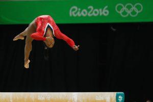 Brazil, Rio de Janeiro,U.S.'s  Simone Biles,  beam routine won her a bronze medal on Monday