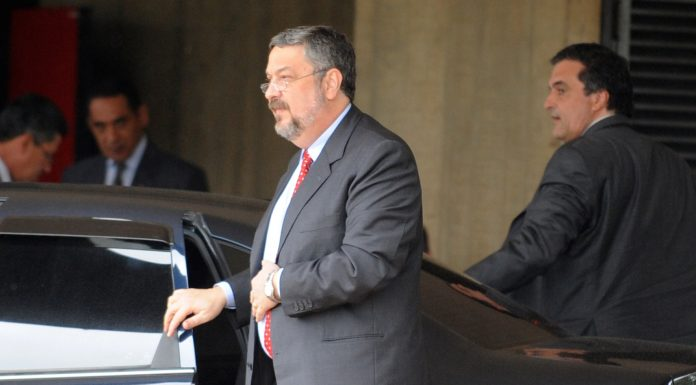 Brazil, São Paulo, Former Chief of Staff for the Rousseff Administration, Antonio Palocci was arrested for corruption in 2016