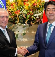 Japan PM Eyes Big Investment Opportunity in Brazil