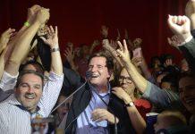 Brazil, Rio de Janeiro,Conservative evangelical bishop, Marcelo Crivella, wins mayoral race in Rio de Janeiro,