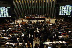 Brazil, Brasilia,Anti corruption bill voted in Chamber of Deputies,
