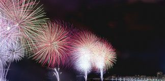 New Year celebrations in Copacabana, photo by Porto Bra Hotels/Flickr Creative Commons License.
