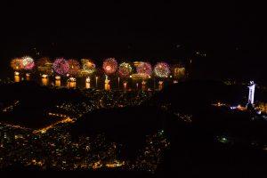 Réveillon in Copacabana fireworks, New Year's Eve, Rio de Janeiro, Brazil, Brazil News