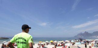 Beach Security in Rio, police, safety, Rio de Janeiro, Brazil, Brazil News