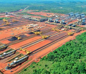 Brazil, Pará,Vale's iron ore project in Carajas, Pará will be the largest in Brazil's mining industry,