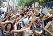 Rio's Carnival bloco Céu na Terra in Santa Teresa