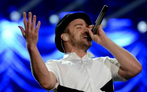 Justin Timberlake at Rock in Rio, photo internet recreation. Brazil, Brazil News, Rio de Janeiro, Rock in Rio, music festivals, Rock in Rio 2017 lineup, Justin Timberlake, Lady Gaga