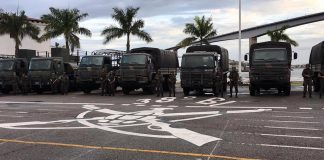 Brazil,Federal troops ready to patrol streets of Vitoria, capital of Espirito Santo