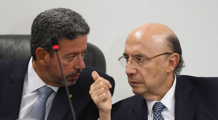 Brasilia,Brazil's Finance Minister speaks to House Representative on Wednesday,