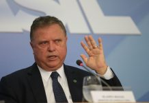 Brazil, Brasilia,Agriculture Minister, Blairo Maggi during press conference on Weak Flesh Operation on Sunday, March 19th
