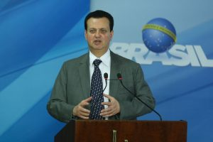 Brazil,Communications Minister Gilberto Kassab, does not discard a government  intervention at Oi,