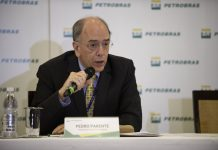 Petrobras CEO Pedro Parente resigned Friday after criticism over fuel price policies, Brazil, Rio de Janeiro.