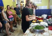 Rio News, Brazil News, social project, volunteering, feeding Rio's homeless, Caminhos In Action