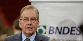 Brazil, São Paulo,BNDES' president Paulo Rabello de Castro spoke in São Paulo on Monday,