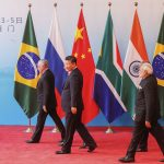 Brazil,Presidents of Brazil, Russia, India, China and South Africa meet at the 9th BRIiCS summit in China