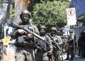 The Brazilian armed forces have remained in Rocinha, Rio de Janeiro, Brazil, Brazil News