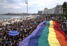 Brazil, Brazil news, Rio de Janeiro,Rio's 22nd Gay Pride Parade attracted thousands to Copacabana Beach