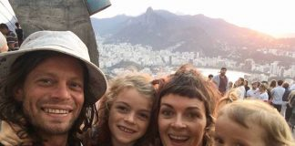 Brazil,U.S. family found safe after spending two days in the Amazon jungle, photo reproduction