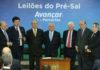 Brazil,President Michel Temer participates in pre-salt concession contract signing ceremony