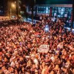 Brazil,Crowd of supporters that gathered since Thursday outside Metalworkers Union building, vow to keep Lula out of prison,