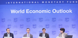 Brazil,IMF director, Maurice Obstfeld, speaks at the entity's Spring Meeting