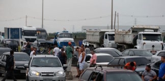 Truck drivers protesting the increase of diesel fuel have blocked some of Brazil's main highways,
