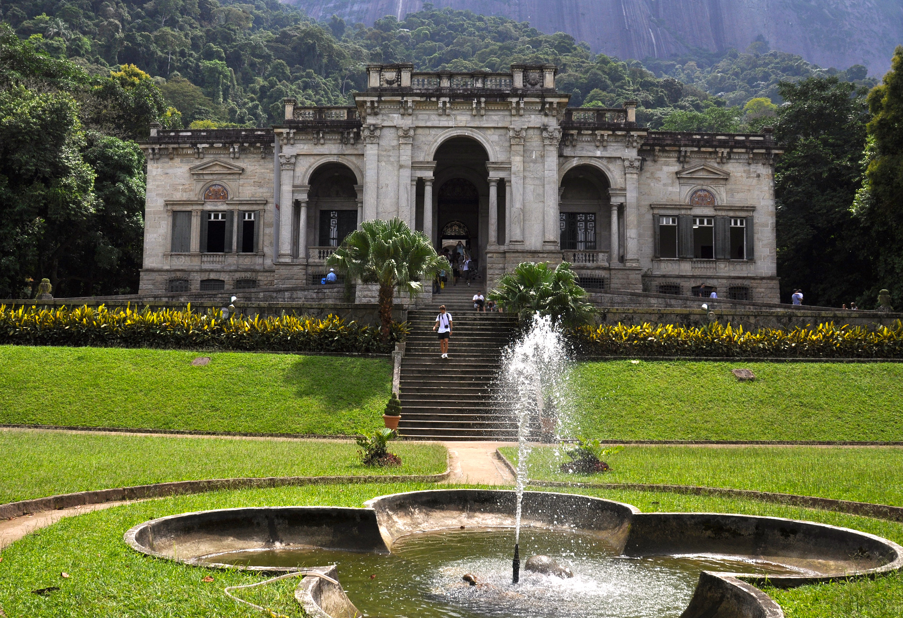 Consistently rated as one of the most beautiful parks in Rio de Janeiro, Parque Lage is an oasis of calm situated just underneath Cristo Redentor (Christ the Redeemer), Rio de Janeiro, Brazil, Brazil News